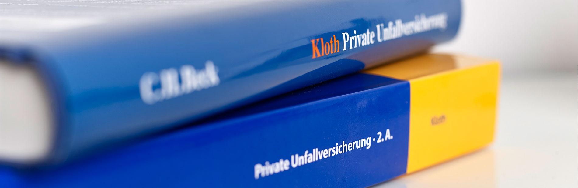 Buch Private Unfallversicherung